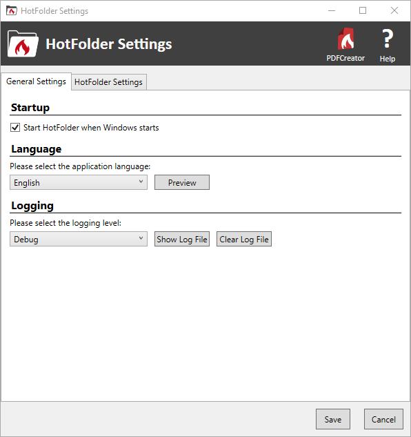PDFCreator HotFolder