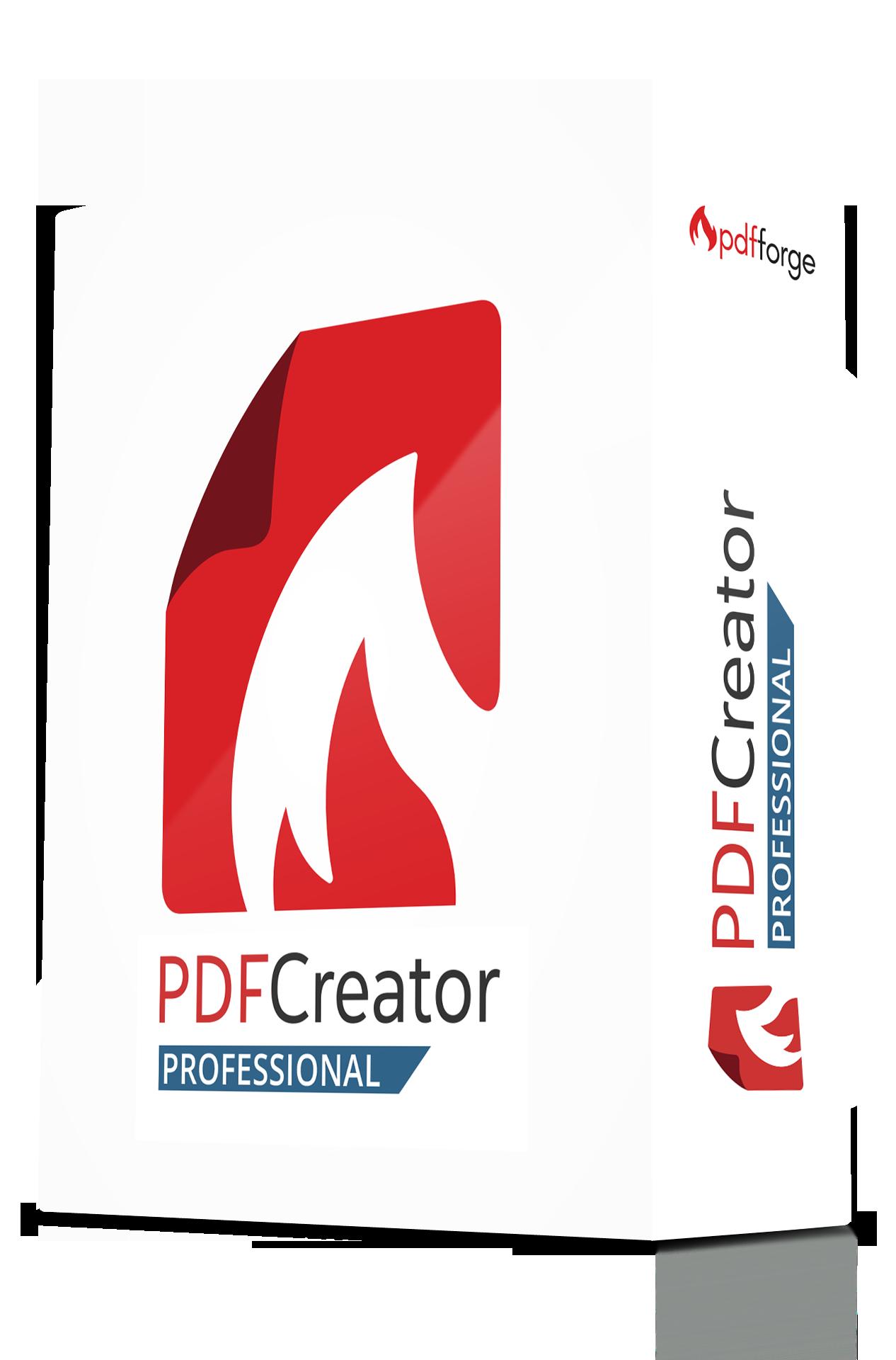 pdfcreator professional boxshot
